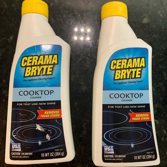 Cerama Bryte - cooktop cleaner (1 full, 1 half)